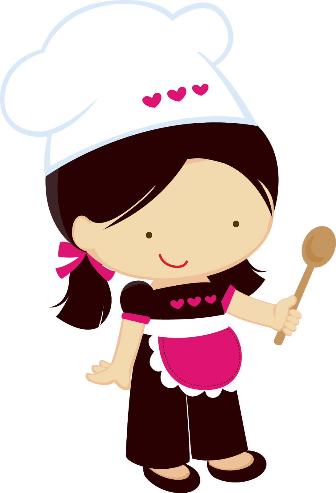 1090x1600 Chef Clipart Girl Clipartfest Kitchen