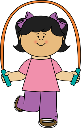 286x450 Girl Playing Jump Rope Clip Art