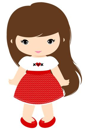 286x445 Little Girl Clip Art