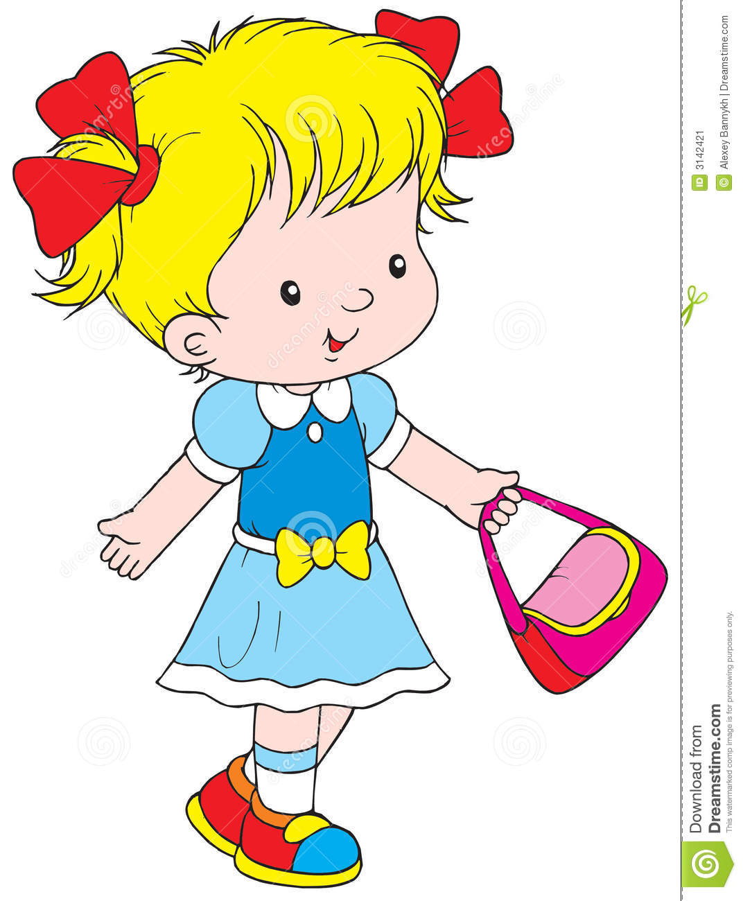 1072x1300 Walking Girl Clipart