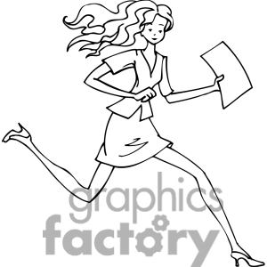300x300 Woman Clip Art Black And White Clipart Panda