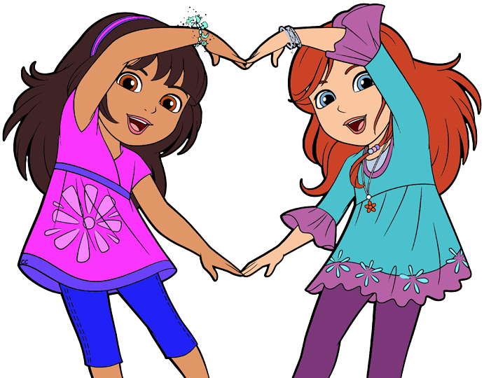 691x540 Dora And Friends Clipart Images