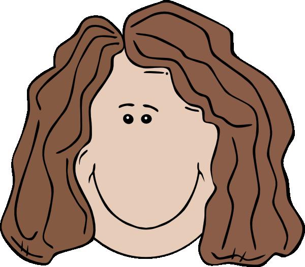 600x526 Woman Face Clip Art