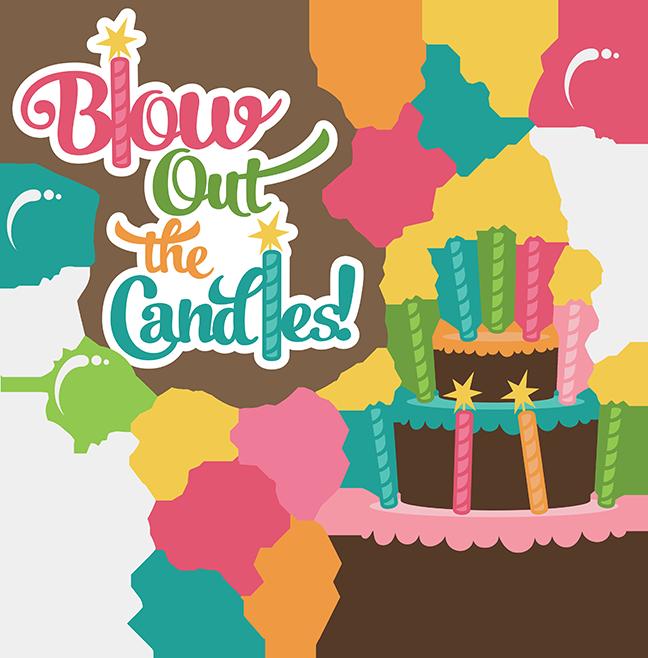 648x658 Girl Birthday Clip Art
