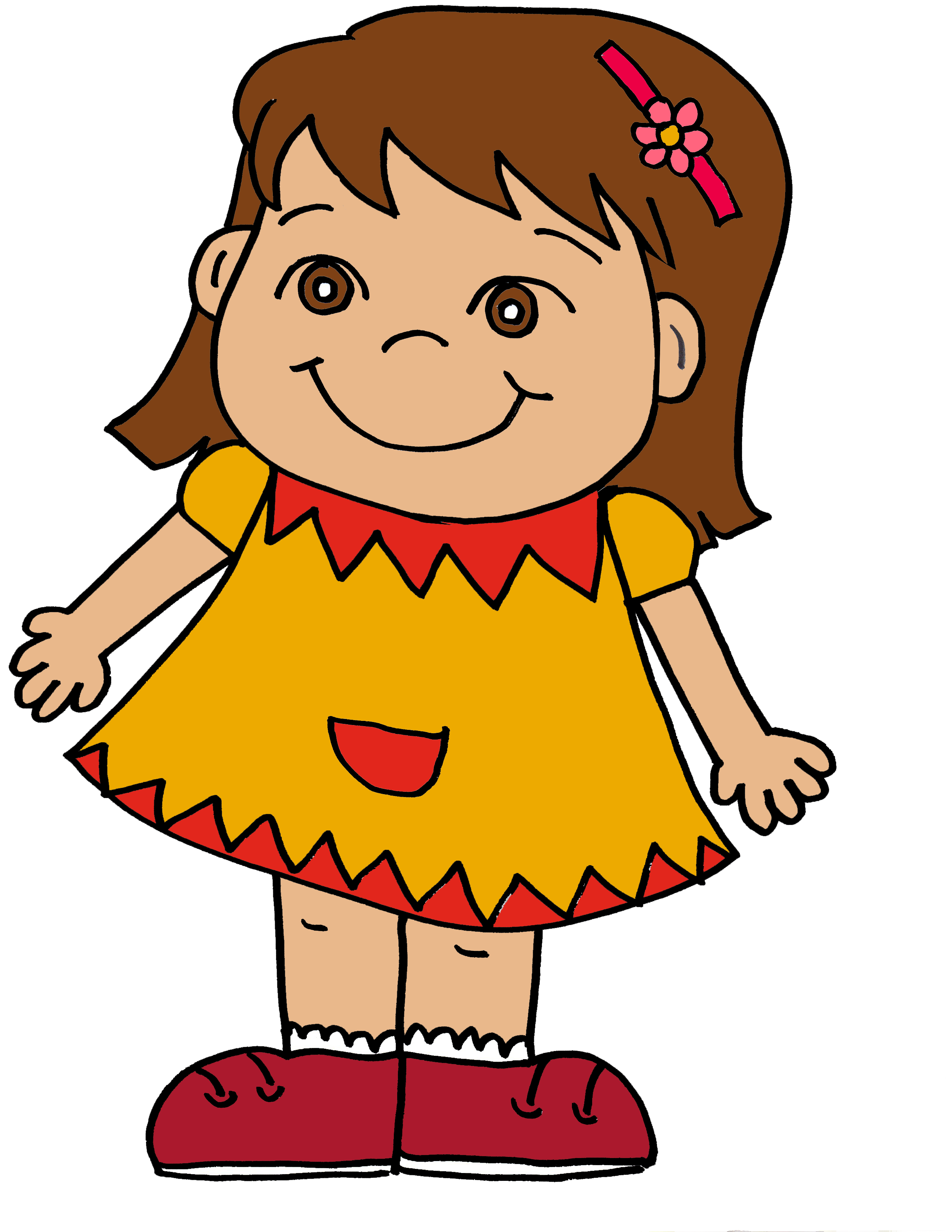 2550x3300 Girl Clipart Free Download Clip Art