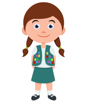 172x210 Image Clipart Girl