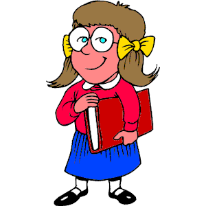 300x300 Free Clipart Girl