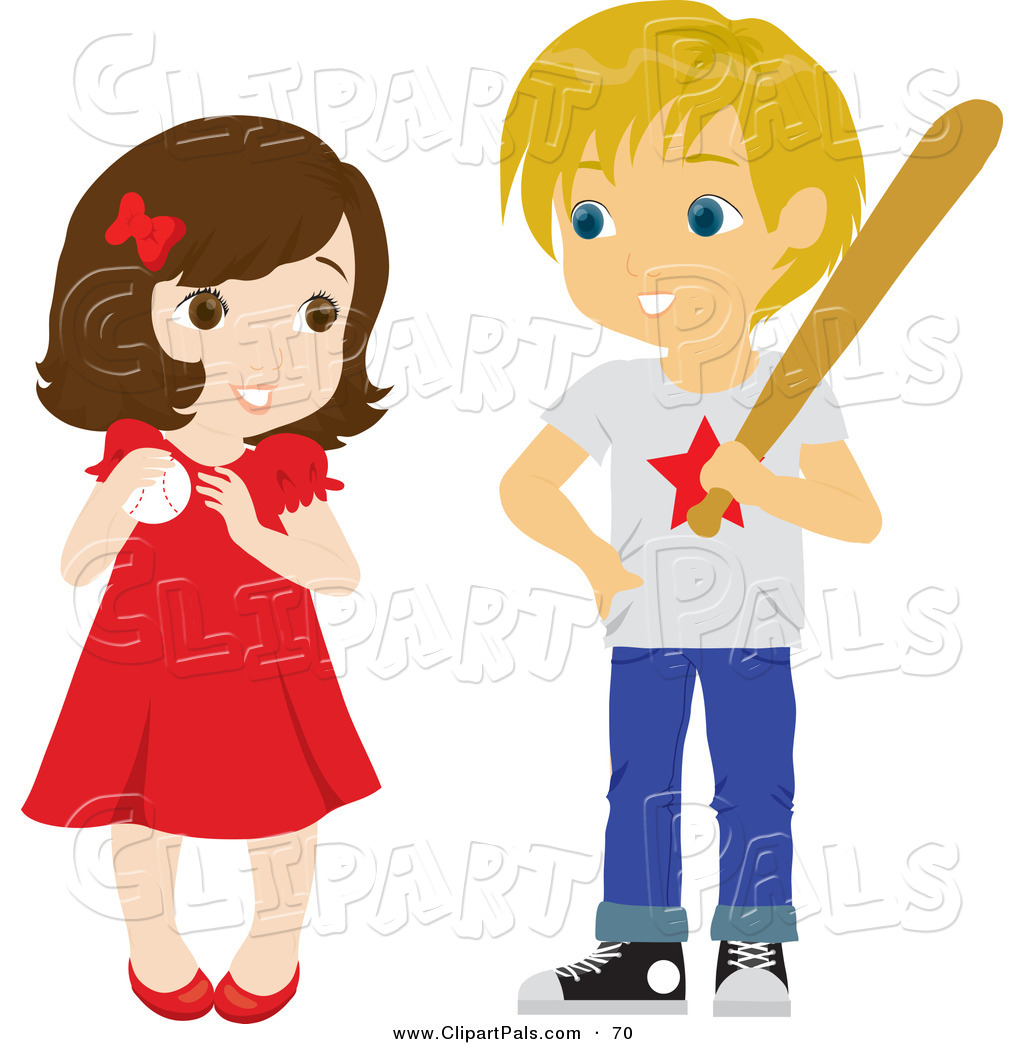 1024x1044 Girl And Boy Clipart
