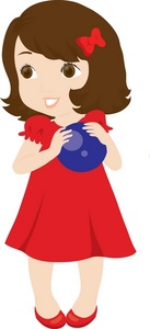 137x300 Little Girl Clip Art