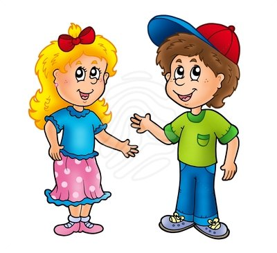 400x366 Boy And Girl Clip Art Many Interesting Cliparts