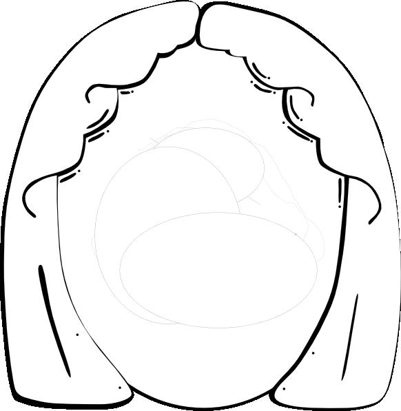 582x597 Girl Face Clip Art