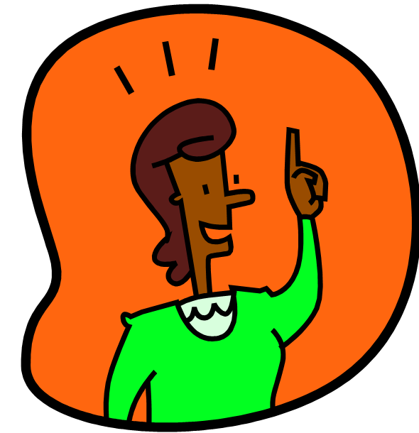 590x610 Png Girl Thinking Clipart