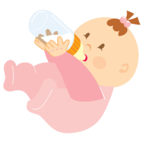 600x600 Baby Girl Clipart Png