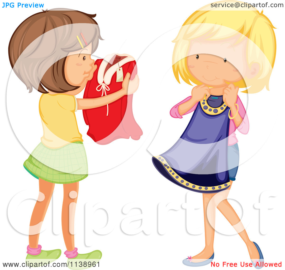 1080x1024 Girl Putting On Clothes Clipart Girl