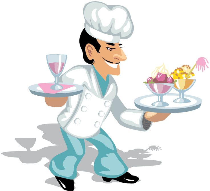Girl Cooking Clipart