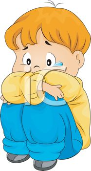 187x350 Royalty Free Clip Art Image Sad Little Boy Crying