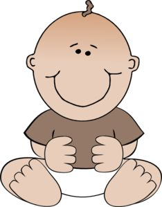 234x299 Cartoon Baby Boy Baby Boy Crawling Clip Art