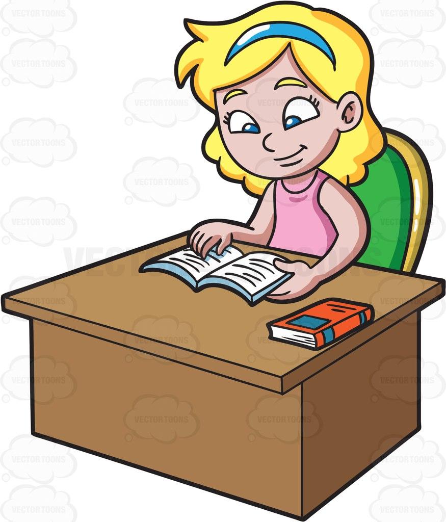 875x1024 Girl Clipart Homework