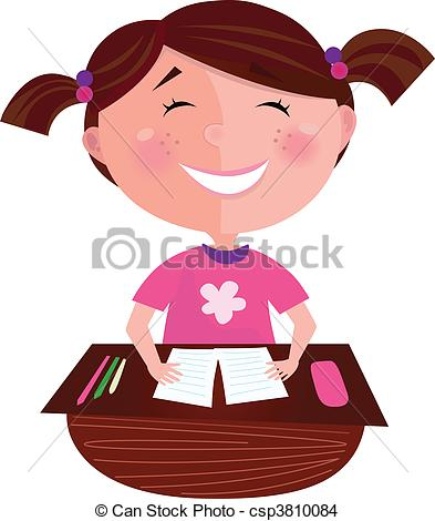 393x470 Homework Clipart Happy
