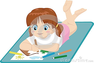 400x270 Pictures Picture Of A Girl Drawing,