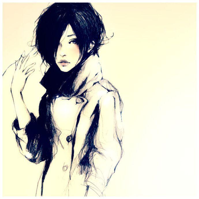 Girl Drawing Art