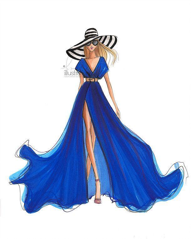 610x762 7779 Best Fashion Illustrations Images Fashion