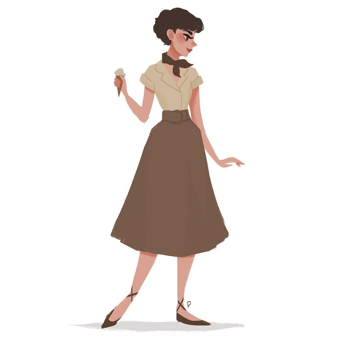 1080x1080 Audrey Hepburn By Punziella A People Full Book