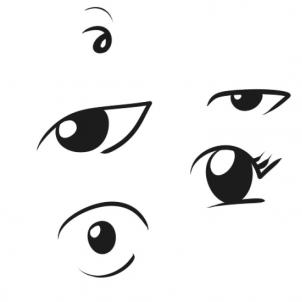 302x302 Coloring Pages Trendy Simple Faces To Draw Face Drawings Easy