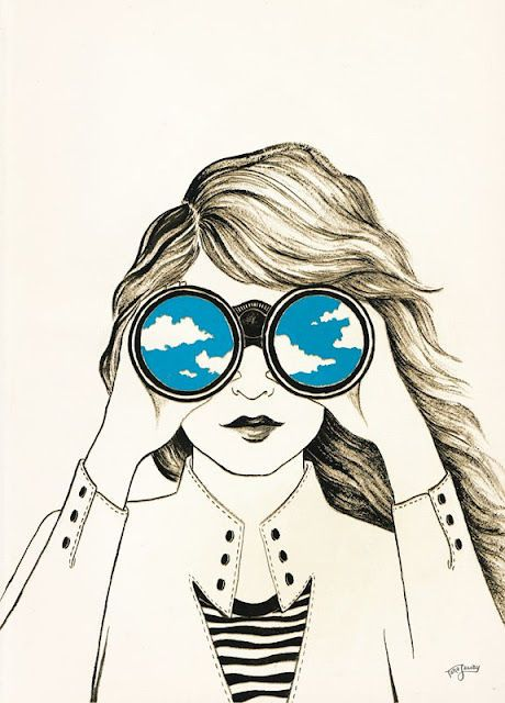 460x640 Seeing The Sky In Her Eyes Art Eye, Illustrations