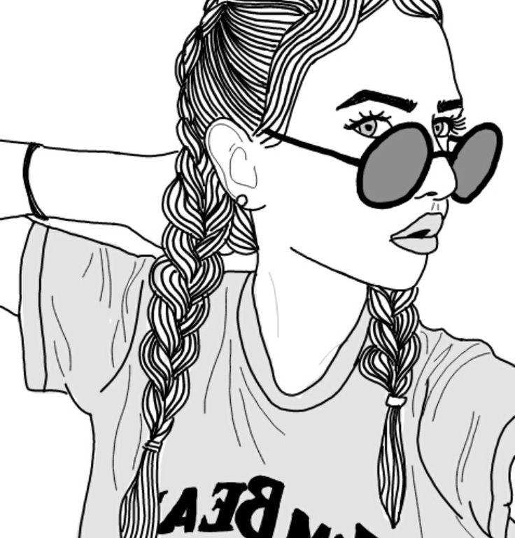 Girl Drawing Ideas