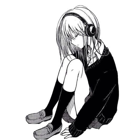 Anime Girl Music: Free Download Best Girl Drawing Manga