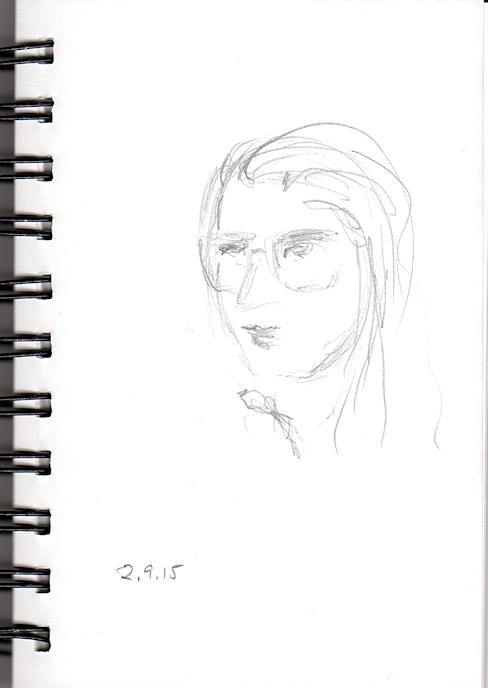 488x688 Pencil Sketch Joana Miranda Studio