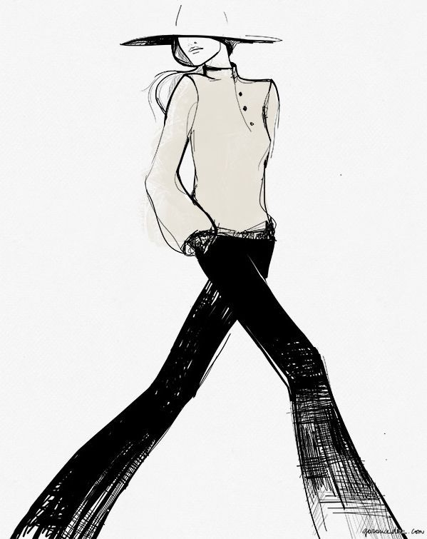 599x755 196 Best Fashion Sketches Images Drawings, Home