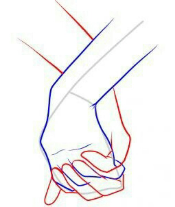 608x720 Holding Hands Leo Dibujos Holding Hands, Drawings