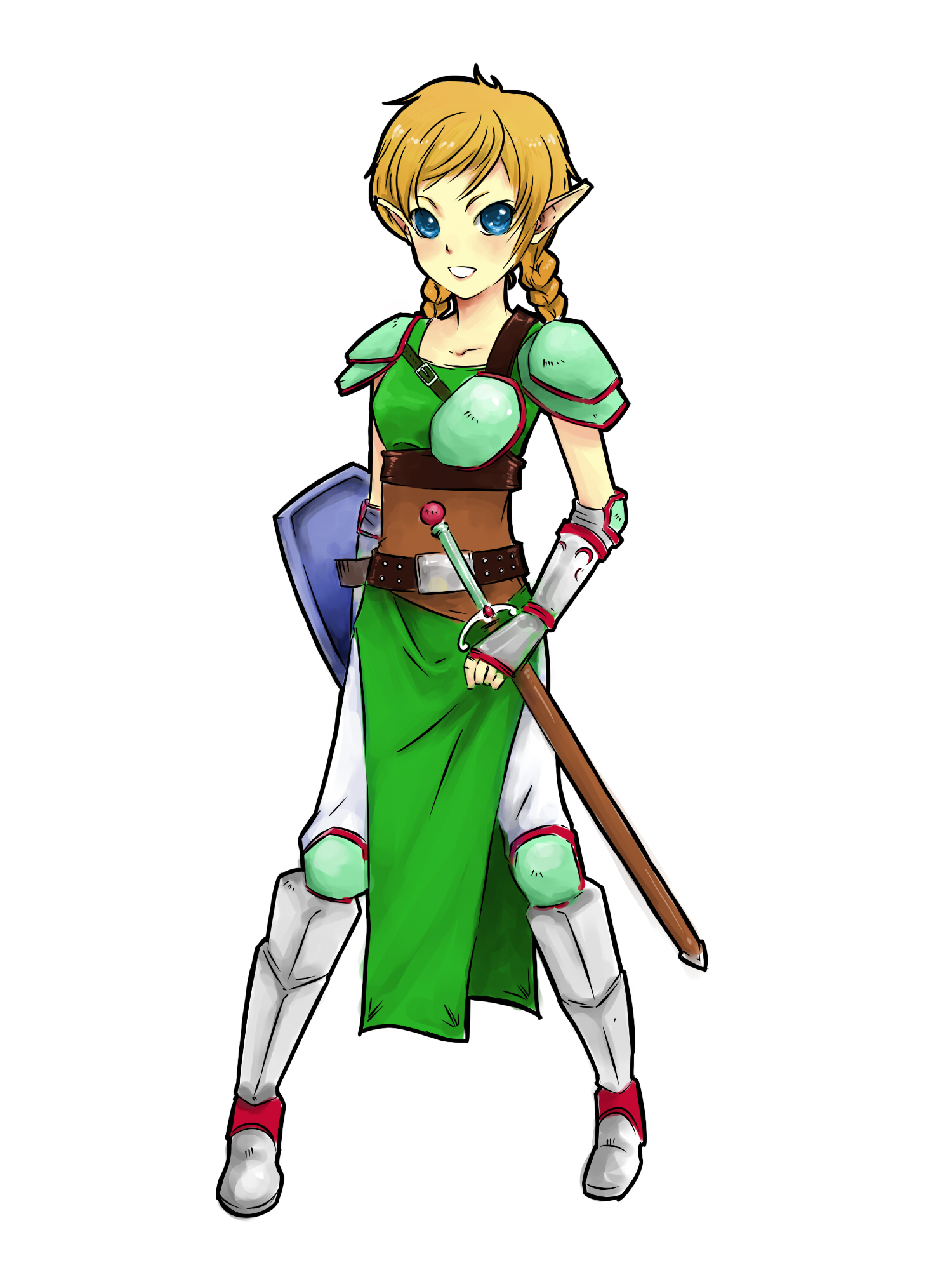 1500x2000 How To Draw A Girl Elf 5 Steps (With Pictures)