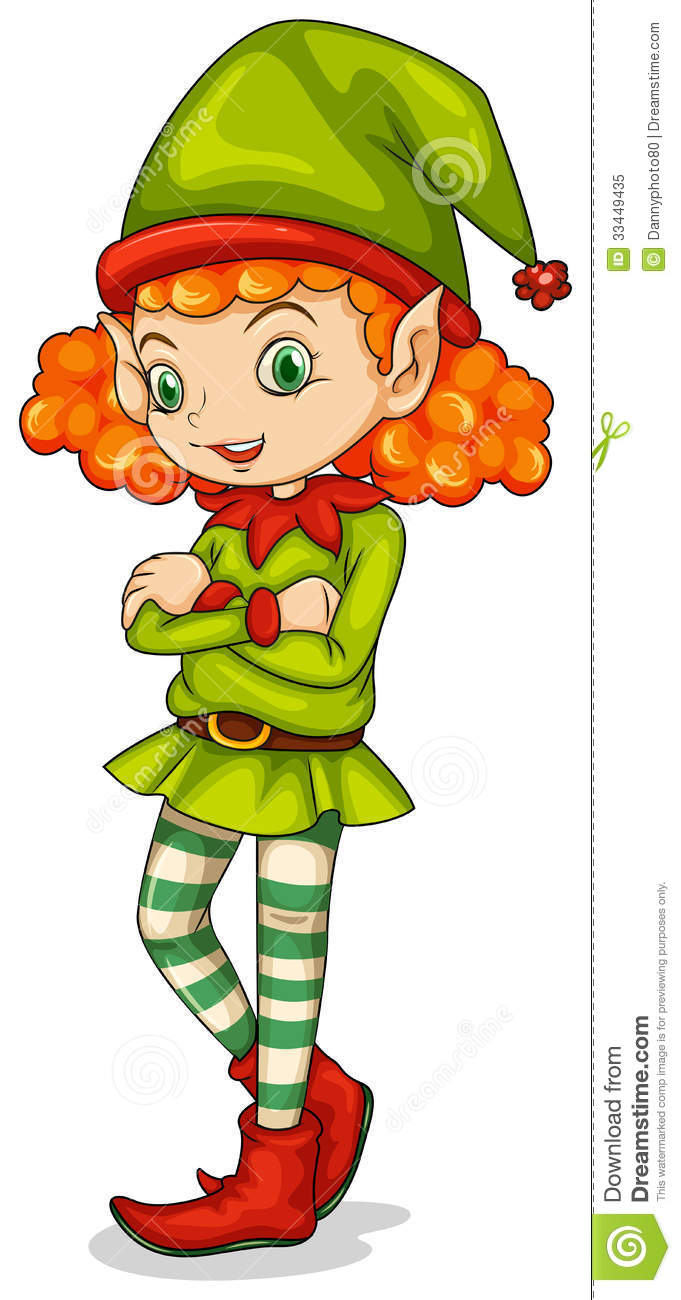Girl Elf Clipart | Free download on ClipArtMag