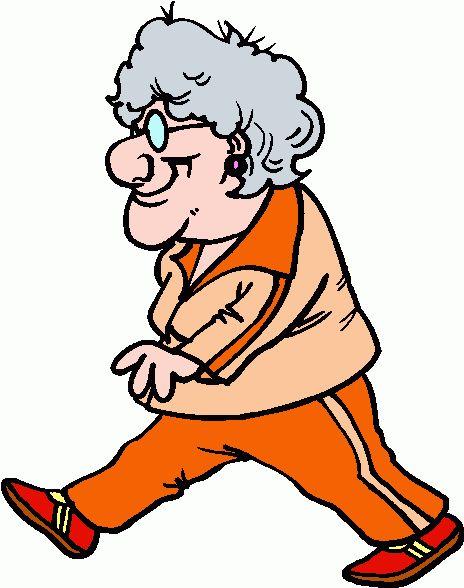 464x588 Cartoon People Clip Art Old Woman Walking Clipart