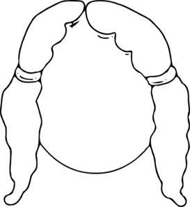 273x298 Girl Face Clip Art