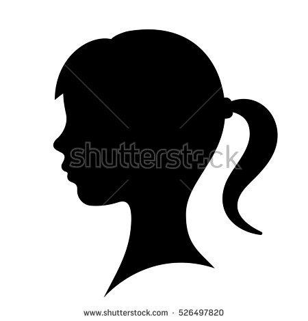 450x470 Curl Clipart Face Profile