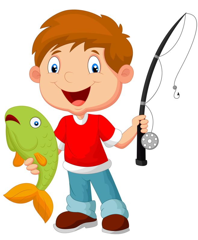 658x800 Fishing Clipart Action