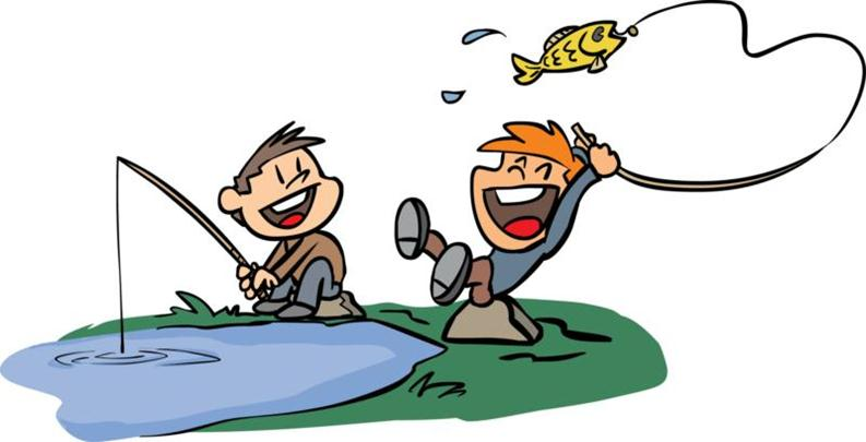 793x405 Image Of Boy Fishing Clipart 9 Fishing Black Clipart Free