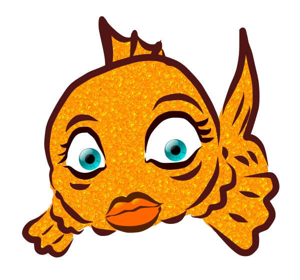 600x559 Lips The Fish Clipart