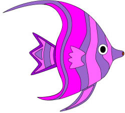 250x226 Pretty Fish Clipart