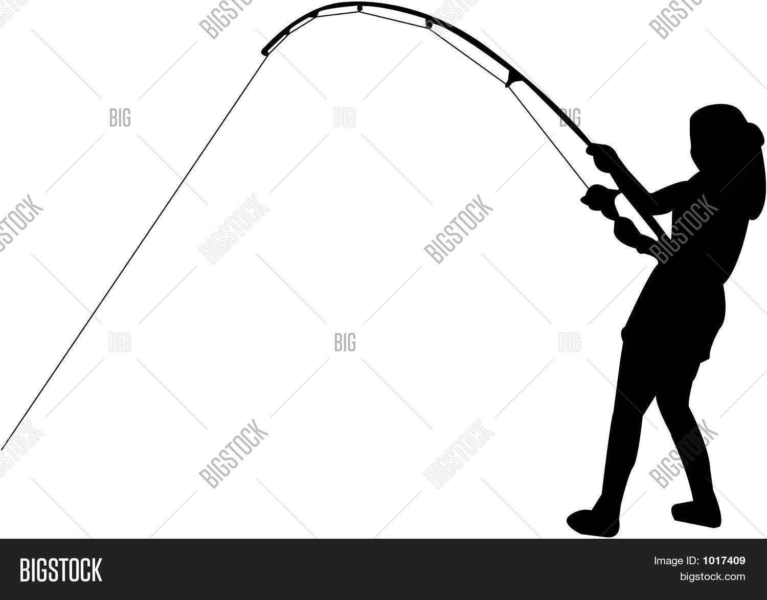 1500x1175 Little Girl Fishing Clipart Black And White