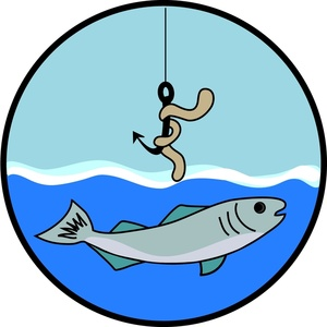 300x300 Clip Art Fishing