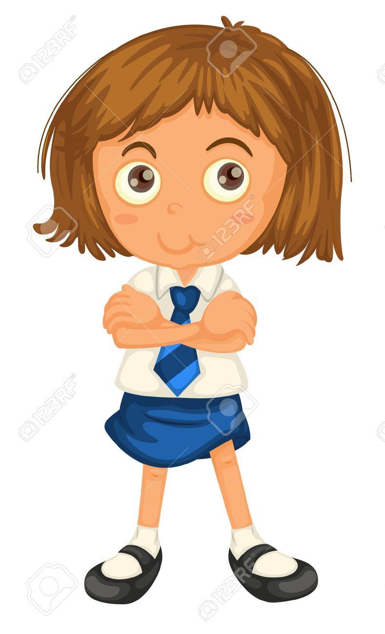 789x1300 Get Dressed School Uniform Clipart
