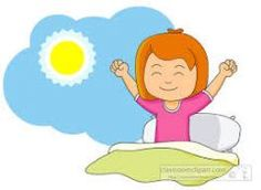 236x172 Wake Up Girl Clipart