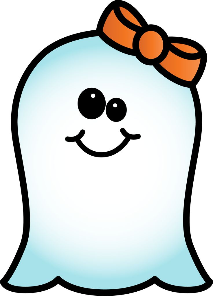 Girl Ghost Clipart