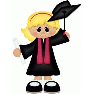 Girl Graduation Clipart