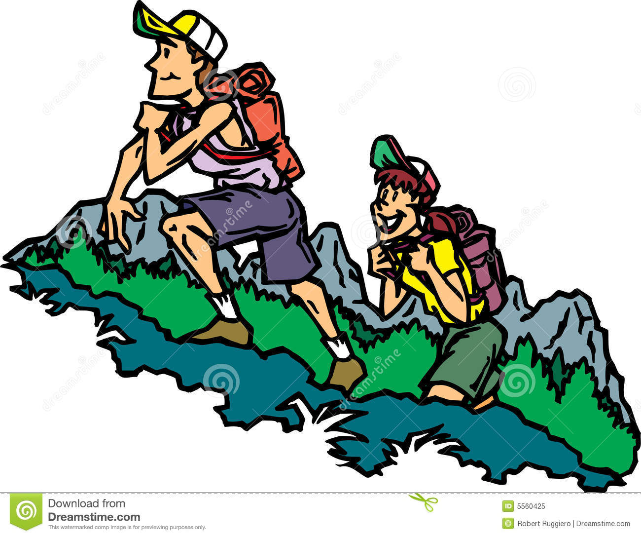 1300x1088 Free Hiking Clipart